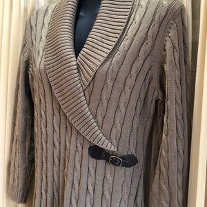 Calvin Klein Sweater Dress Sz Large